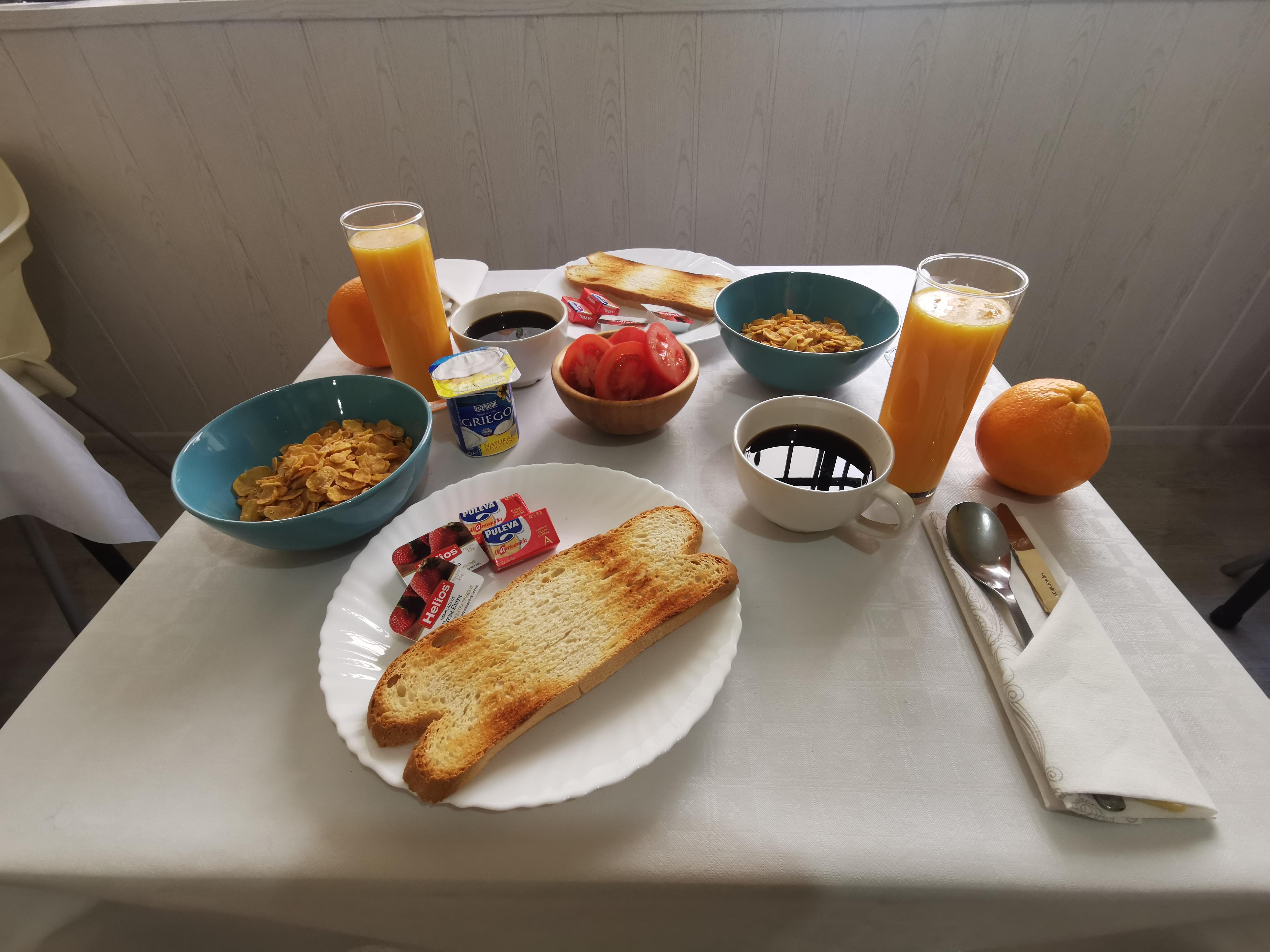 Tu desayuno